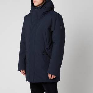 Mackage Men's Edward Down Coat With Removable Hooded Bib - Navy