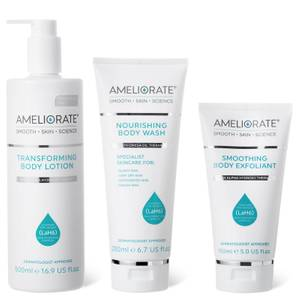 AMELIORATE Smooth Skin Supersize Bundle (Fragrance Free)