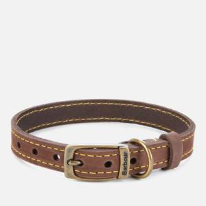 Barbour Casual Leather Dog Collar - Brown