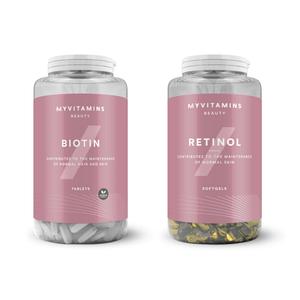 Pack de Retinol & Biotina