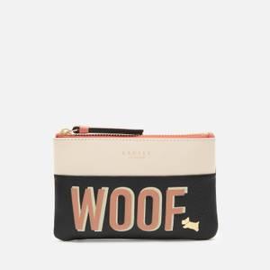 Radley Women's Woof Small Ziptop Coin Purse - Black