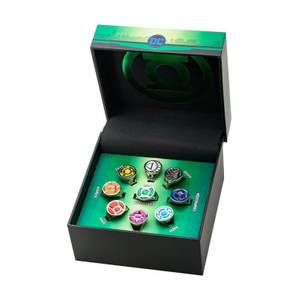 DC Comics Green Lantern Corps Limited Edition Ring Set - EU Exclusive