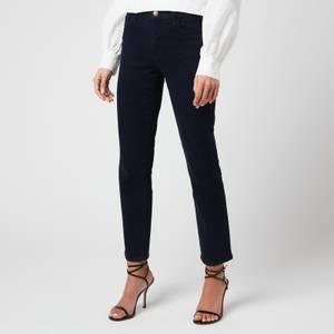 J Brand Women's Adele Mid Rise Straight Jeans - Penrose