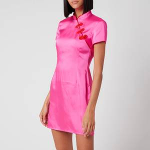 De La Vali Women's Suki Dress - Hot Pink