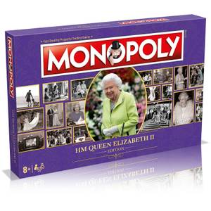 Monopoly Board Game - HM Queen Elizabeth II Edition