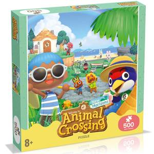 500 Piece Jigsaw Puzzle - Animal Crossing Edition