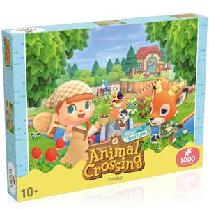 1000 Piece Jigsaw Puzzle - Animal Crossing Edition