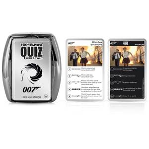 Top Trumps Quiz Game - James Bond 007 Edition