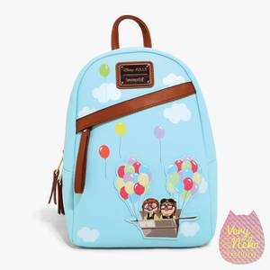 Loungefly Disney UP Adventure Balloons Mini Backpack - VeryNeko Exclusive