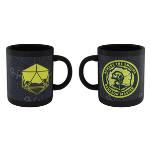 Dungeons & Dragons Beware The Smiling DM Mug - Black