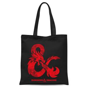 Dungeons & Dragons Infernal Tote Bag Tote Bag - Black