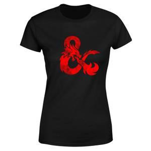 Dungeons & Dragons Ampersand Damen T-Shirt - Schwarz