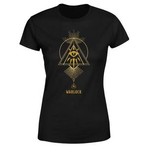 Dungeons & Dragons Warlock Women's T-Shirt - Black