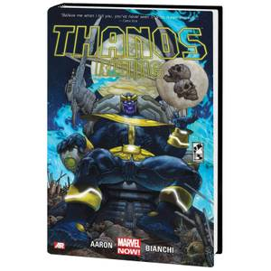 Marvel Comics Thanos Rising Hardcover Novel