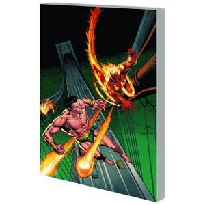 Marvel Comics Sub Mariner & Original Human Torch Trade Taschenbuch