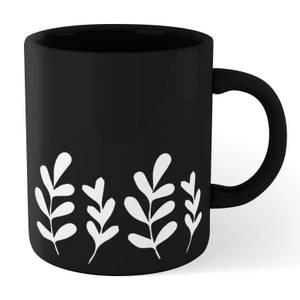 Leaf Mug - Black