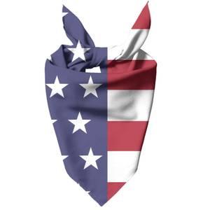 American Flag Pet Bandana