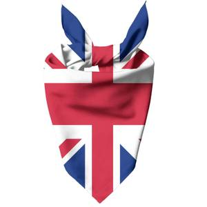 British Flag Dog Bandana