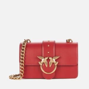 Pinko Women's Love Mini Icon Simply Bag - Ruby Red