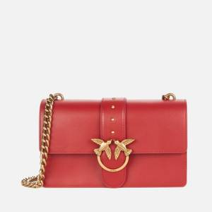 Pinko Women's Love Classic Icon Simply Bag - Ruby Red