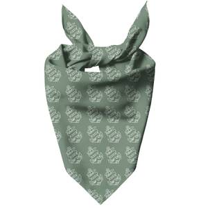 Sage Anchor Dog Bandana