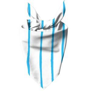 Blue Stripes Dog Bandana