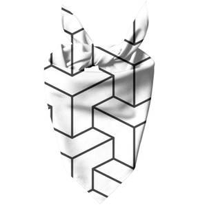 3D Cubes Dog Bandana