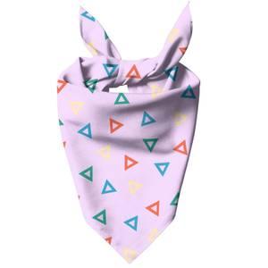 Rainbow Triangles Dog Bandana