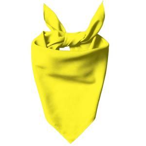 Bright Yellow Dog Bandana