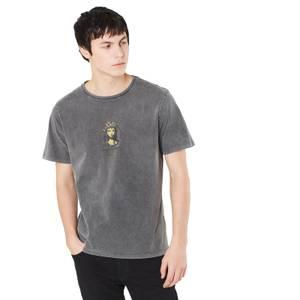 T-shirt Noir Délavé Princess Unisexe - The Legend of Zelda