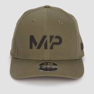 MP New Era 9FIFTY Stretch Snapback - Dark Olive/Black