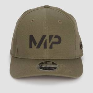 MP 뉴에라 9FIFTY 스트레치 스냅백 - 다크 올리브/블랙