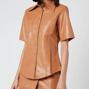 Simon Miller Women's Bandera Shirt - Toffee