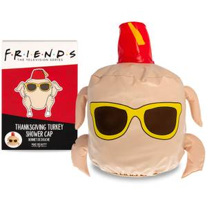 Friends Thanksgiving Turkey Shower Cap