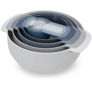 Joseph Joseph Editions Nest 9 Piece Food Preparation Set - Sky