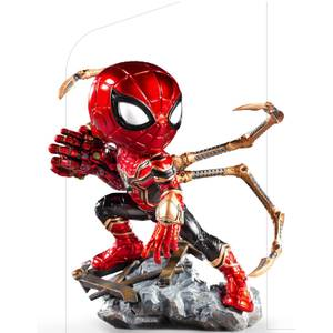 Iron Studios Marvel Avengers Endgame Mini Co. PVC Figure Iron Spider 14 cm