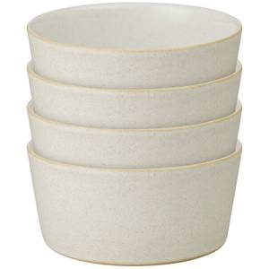 Denby Impression Cream Straight Bowls (Set of 4)