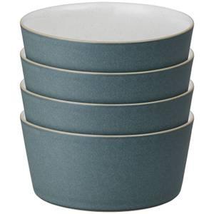 Denby Impression Charcoal Straight Bowls (Set of 4)