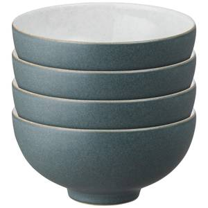Denby Impression Charcoal Rice Bowls (Set of 4)