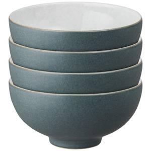Denby Impression Charcoal Rice Bowls (Set of 4)