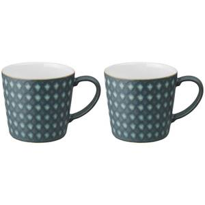 Denby Impression Charcoal Accent Large Mugs (Set of 2)