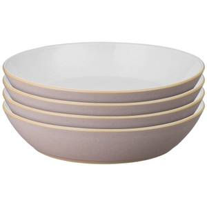 Denby Impression Pink Pasta Bowls (Set of 4)