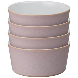 Denby Impression Pink Straight Bowls (Set of 4)