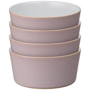 Denby Impression Pink Straight Bowls (Set of 4)