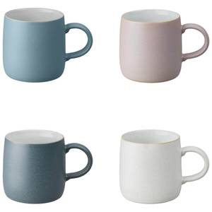 Denby Impression Mixed Small Mugs (Set of 4)