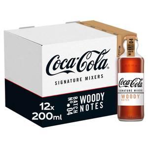 Coca-Cola Signature Mixers Woody 12 x 200ml