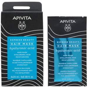 APIVITA Express Beauty Hair Mask with Hyaluronic Acid 6 x 0.68 fl.oz