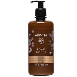 APIVITA Royal Honey Creamy Shower Gel with Essential Oils 16.9 fl.oz