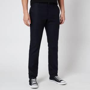 YMC Men's Washed Wool Flannel Déjà Vu Trousers - Navy