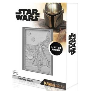 Star Wars Iconic Scene Collection Limited Edition Ingot - Mandalorian